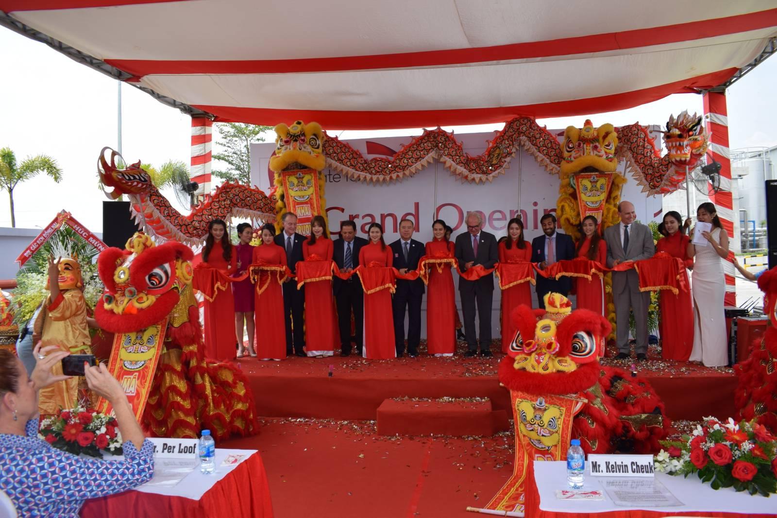 Chủ tịch VITAS tham dự Lễ khai trương nhà máy SX chỉ may của Tập đoàn A&E tại Đồng Nai