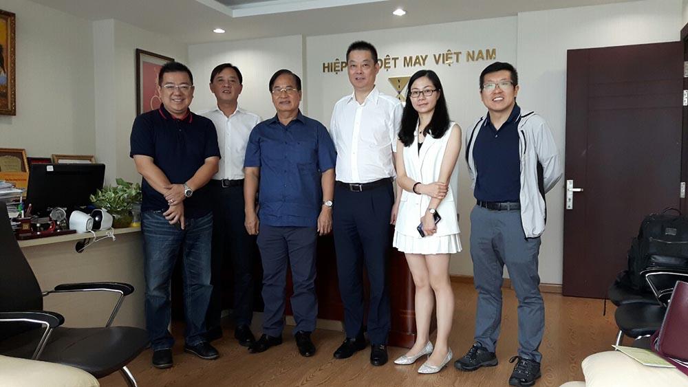 Chủ tịch VITAS tiếp Công ty TNHH Taihua New Material Triết Giang