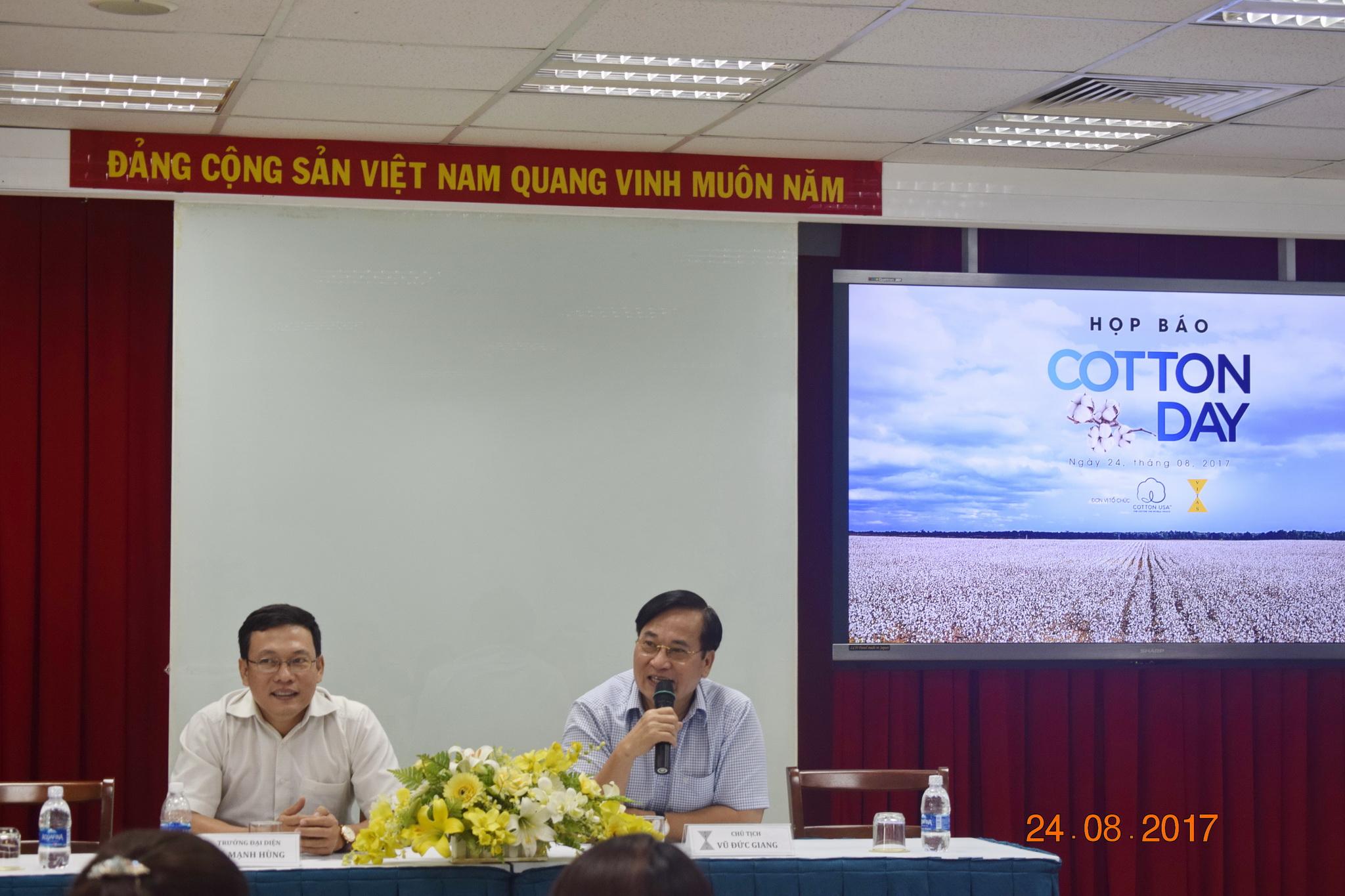 Ngày hội Cotton Day lần đầu tiên tại Việt Nam