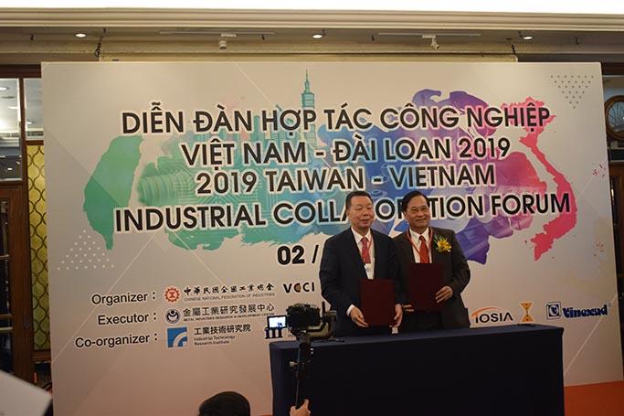 Chủ tịch VITAS tham dự Diễn đàn hợp tác công nghiệp Việt Nam – Đài Loan tại TP. HCM