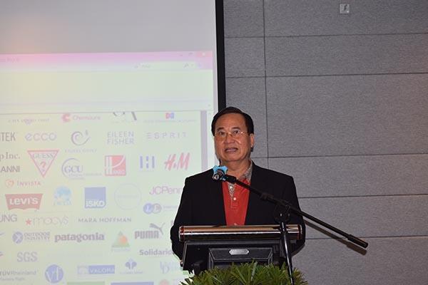 """Chủ tịch VITAS tham dự Hội thảo về """"Chỉ số Higg Index"""" tại TP HCM"""