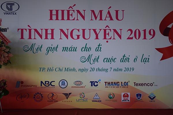 Ngày hội hiến máu tình nguyện của NLĐ ngành dệt may tại TP. HCM