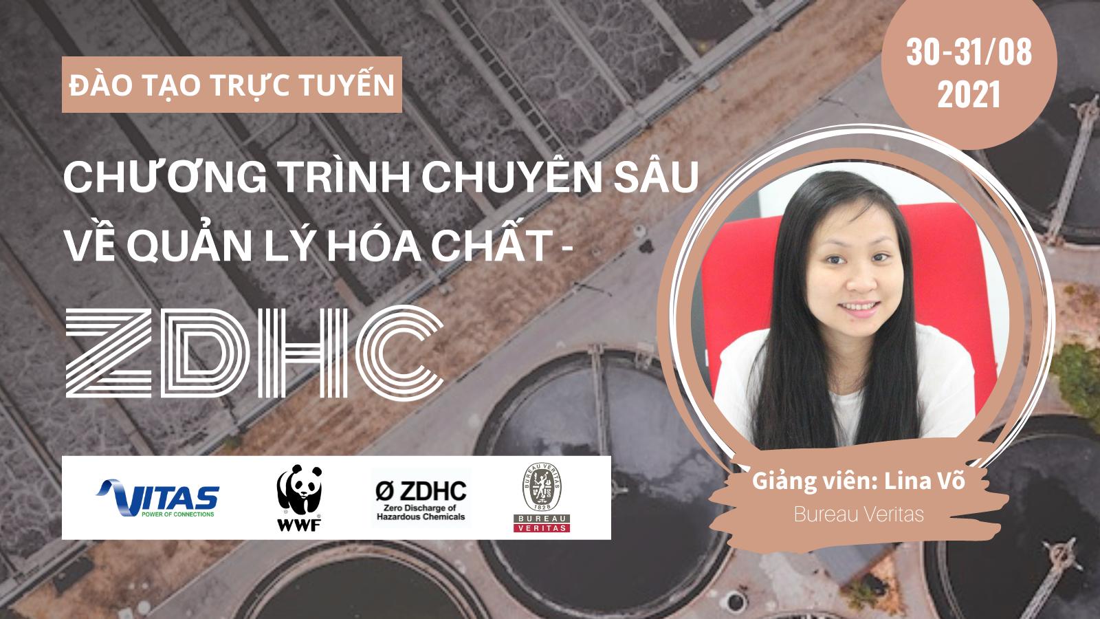 Thư mời đào tạo trực tuyến: Chương trình chuyên sâu về quản lý hóa chất - ZDHC