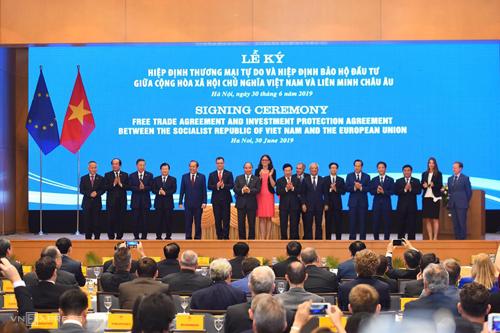 Việt Nam và EU ký kết Hiệp định thương mại tự do