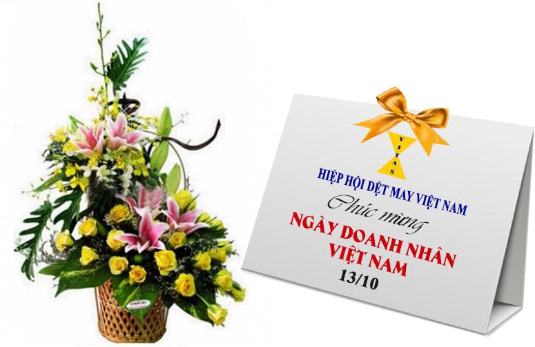 Hiệp hội Dệt May chúc mừng ngày Doanh nhân Việt Nam 13/10
