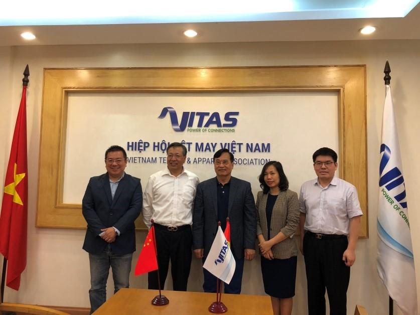 VITAS tiếp đoàn Đại sứ quán Trung Quốc tại Việt Nam