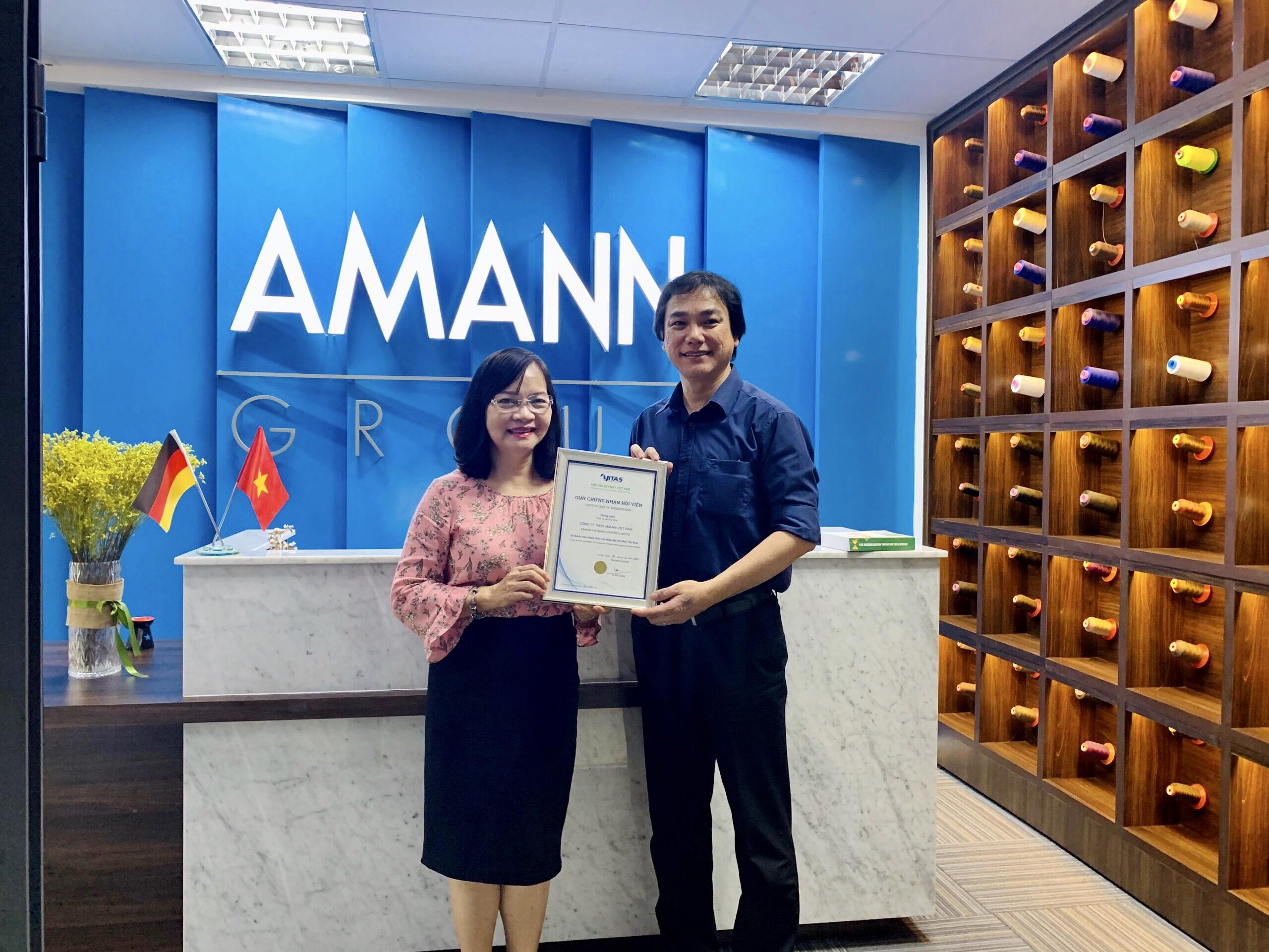 VITAS chào đón hội viên mới - Công ty TNHH Amann Việt Nam