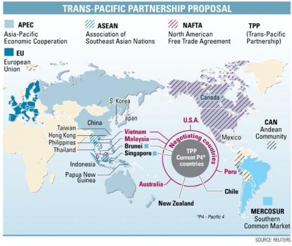 TPP - Cam kết lợi ích rộng hơn