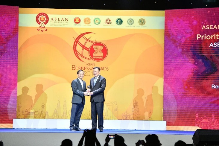 Bee Logistics nhận giải thưởng ASEAN Business Award 2019