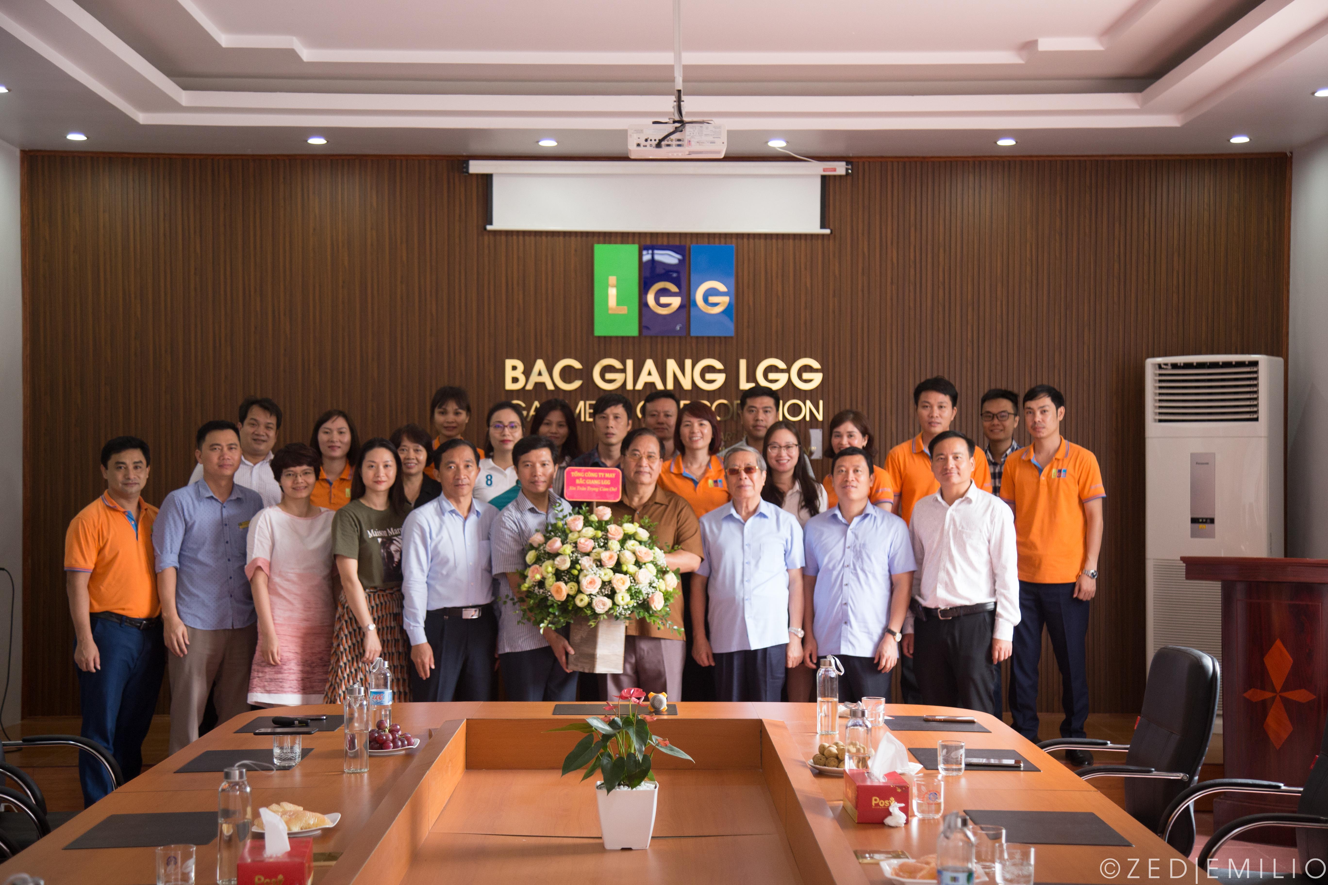 Chủ tịch Vitas tới thăm và làm việc tại Công ty CP – Tổng Công ty May Bắc Giang LGG