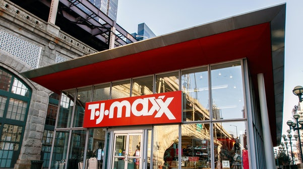 TJ Maxx Says Sales Recovering After...