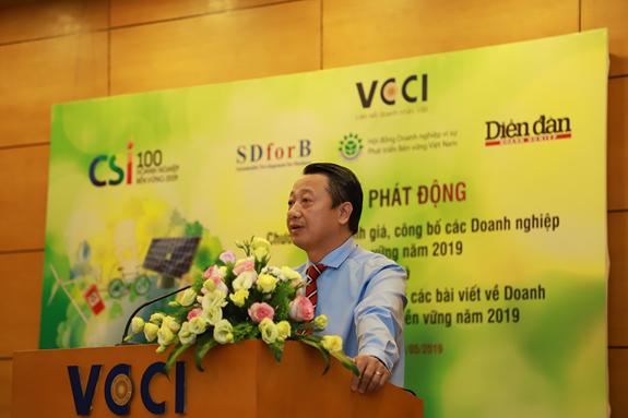 Mời tham dư Chương trình đánh giá công bố các doanh nghiệp bền vững tại VN 2019