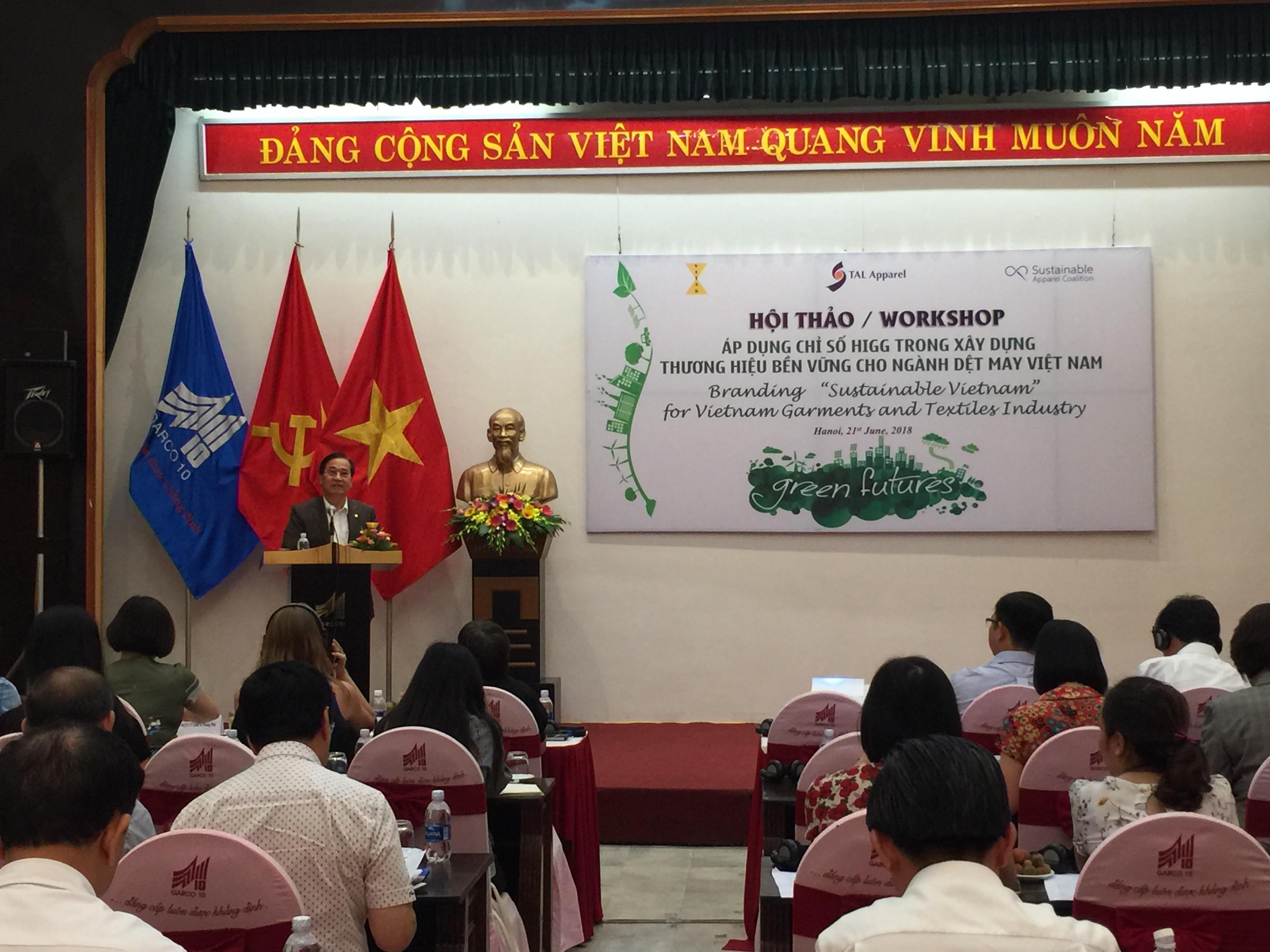 Áp dụng chỉ số HIGG trong xây dựng thương hiệu bền vững cho ngành dệt may Việt Nam