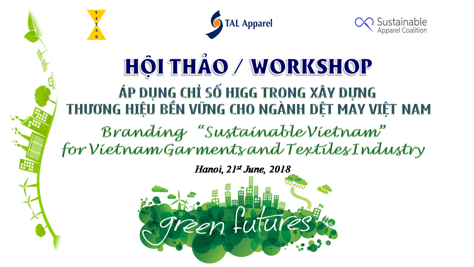 Higg Index to boost Vietnamese text...
