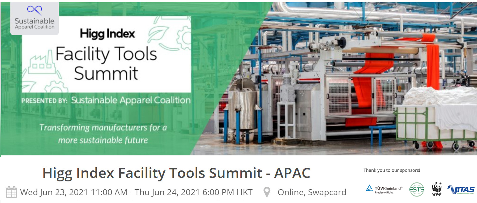 Higg Index Facility Tools Summit Transforming manufacturers for a more sustainable future