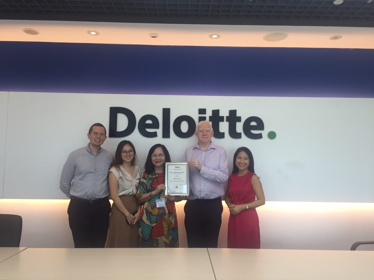 Vitas đón chào thành viên mới: Deloitte Việt Nam