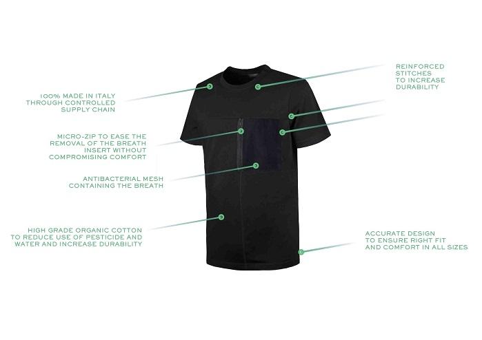 T-shirt that cleans the air