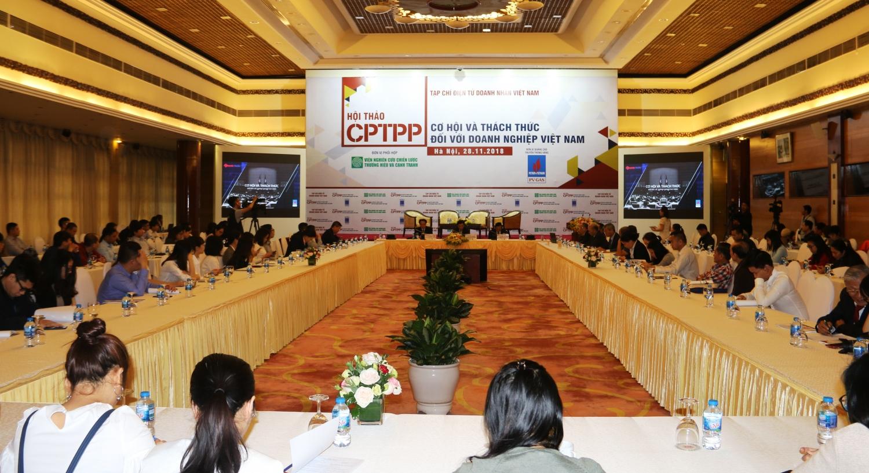 CPTPP : Cơ hội và thách thức đối với doanh nghiệp Việt Nam