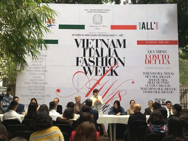 Khởi động Tuần lễ thời trang Việt Nam - Italia 2018
