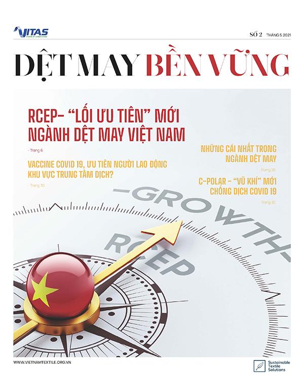 Tạp chí Dệt May Bền Vững số 02 - tháng 5/2021