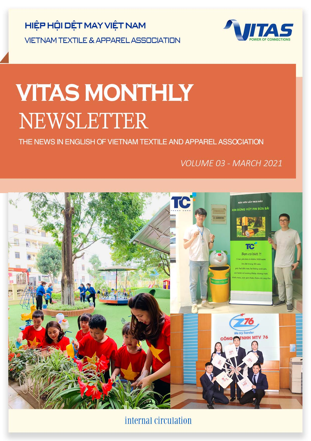 Vitas Monthly Newsletter - March 2021