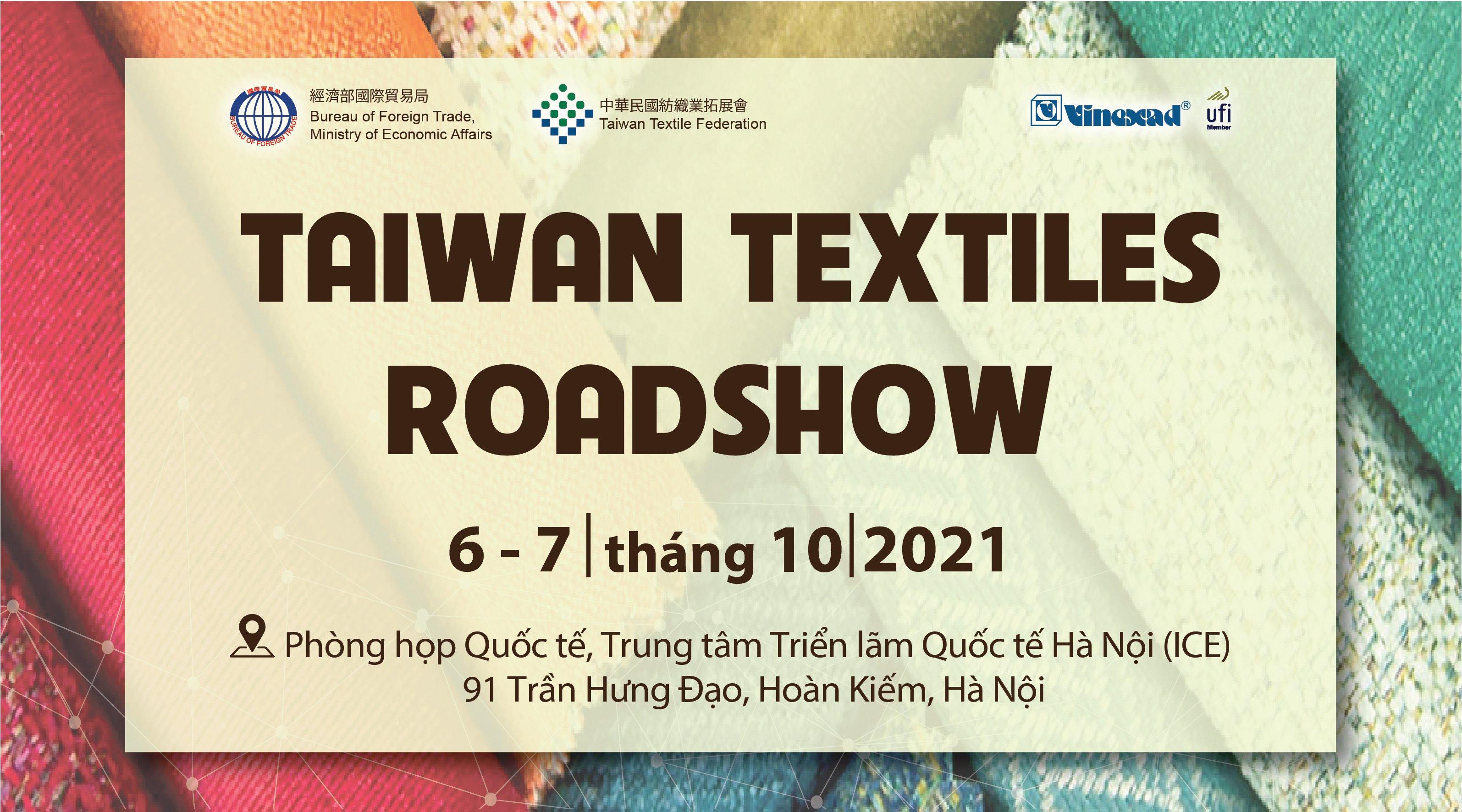 Triển lãm & hội nghị giao thương xúc tiến ngành dệt may Việt Nam – Đài Loan (Trung Quốc) 2021