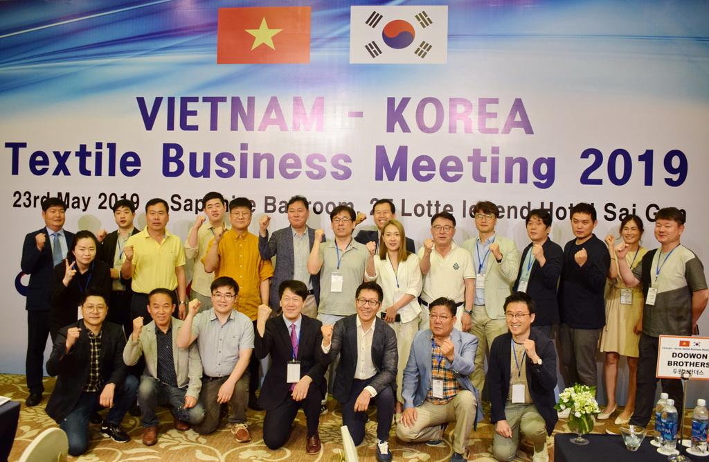 Kết nối giao thương B2B Doanh nghiệp Hàn Quốc - Việt Nam tại TP HCM