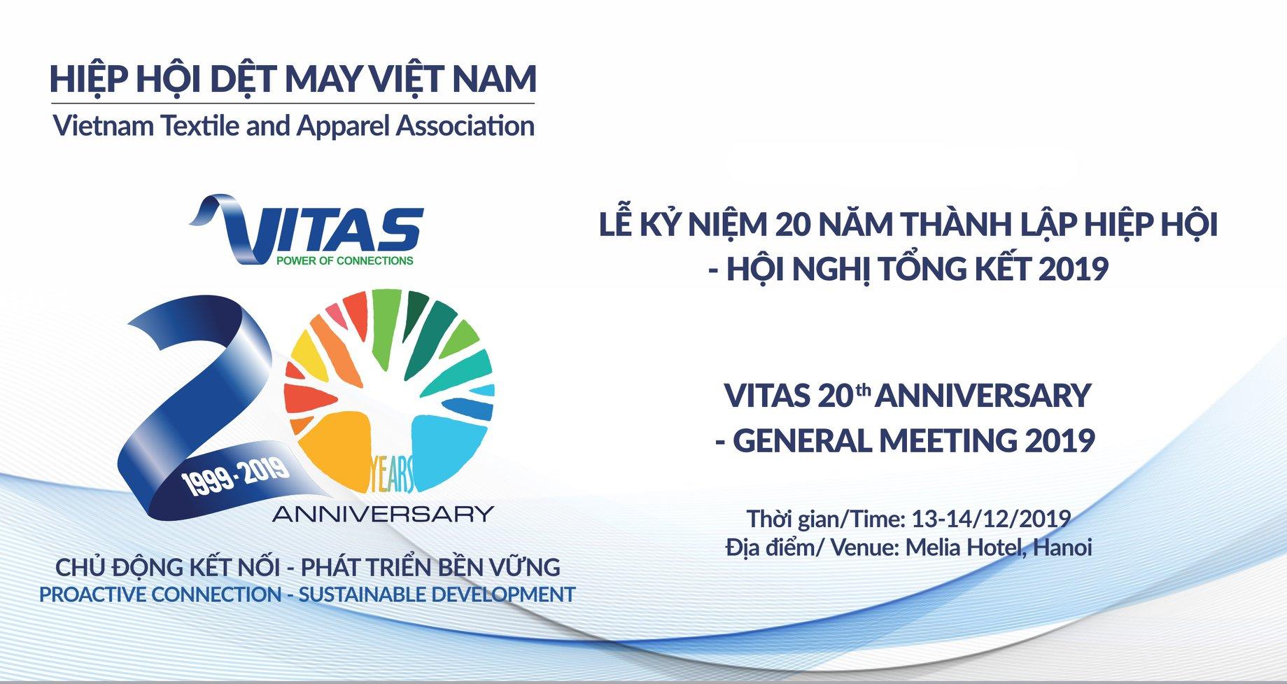 Kỷ niệm 20 năm thành lập Vitas và Hội nghị Tổng kết năm 2019