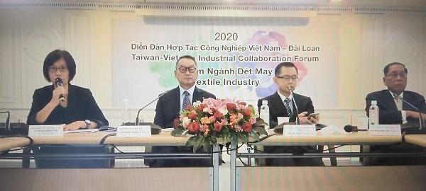 Diễn đàn Hợp tác Công nghiệp Dệt May Việt Nam – Đài Loan 2020