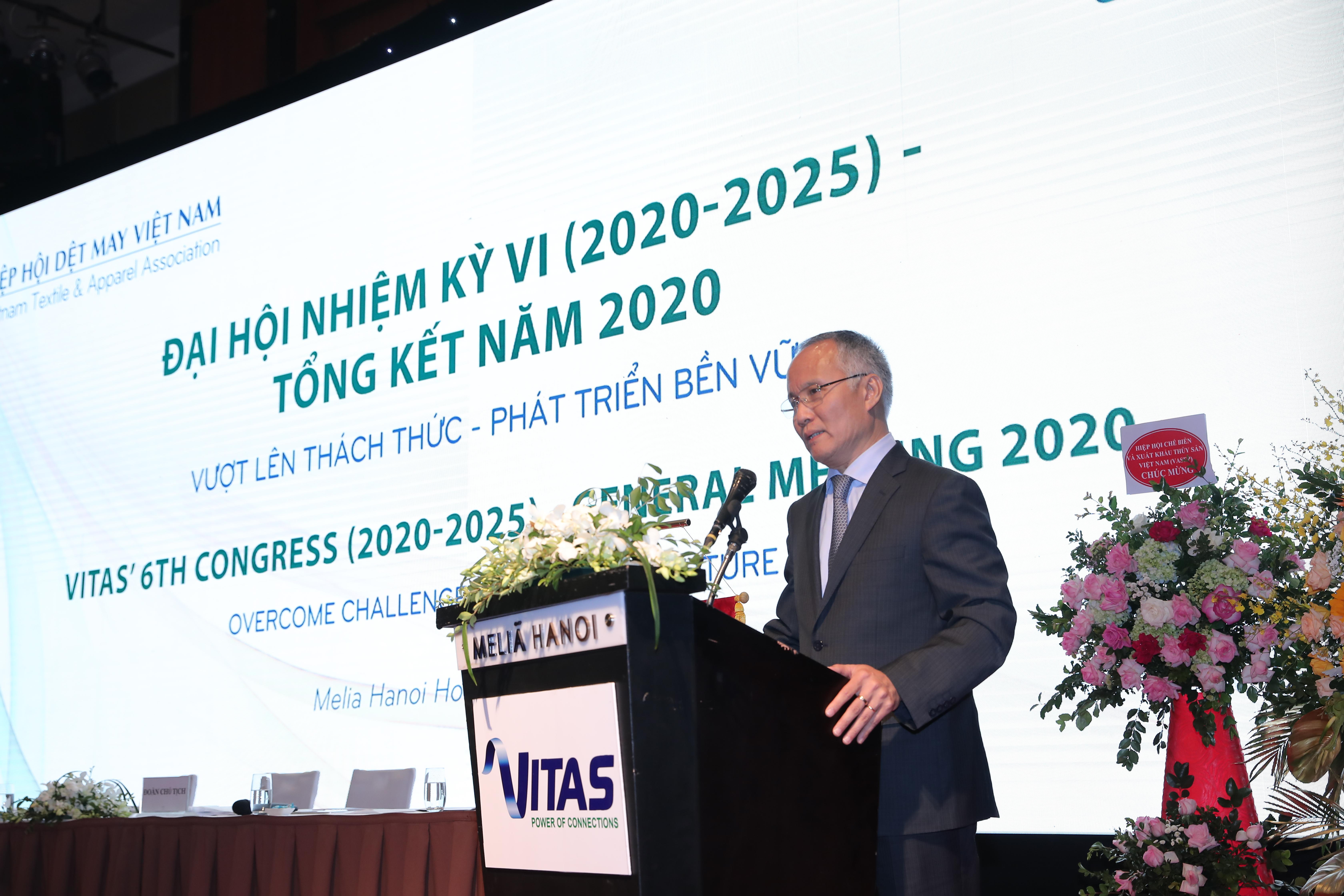 Đại hội nhiệm kỳ VI (2020 – 2025) - Tổng kết Hiệp hội Dệt may Việt Nam năm 2020