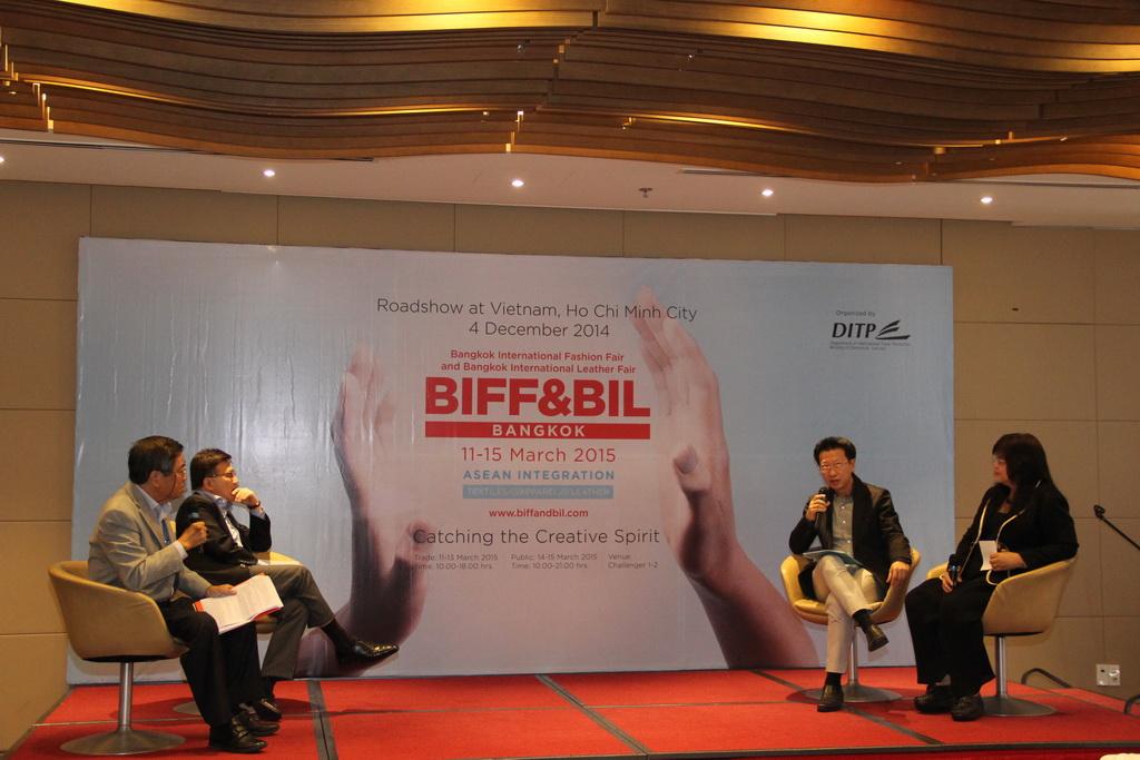 Hội thảo giới thiệu hội chợ BIFF & BIL 2015, ngày 04/12/2014