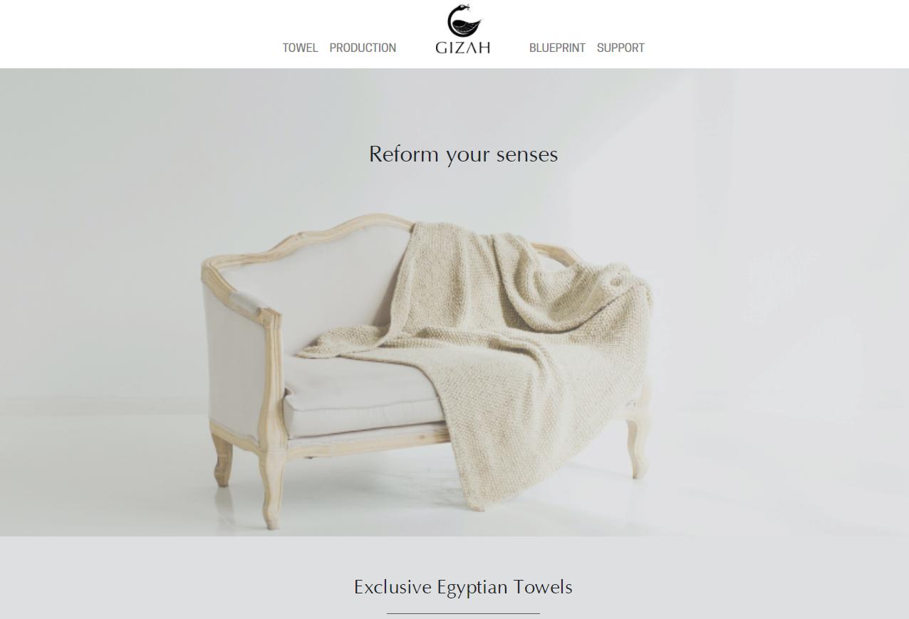 Cơ hội hợp tác: Gizah (Amsterdam, Hà Lan) tìm đối tác sản xuất khăn bông chất lượng cao