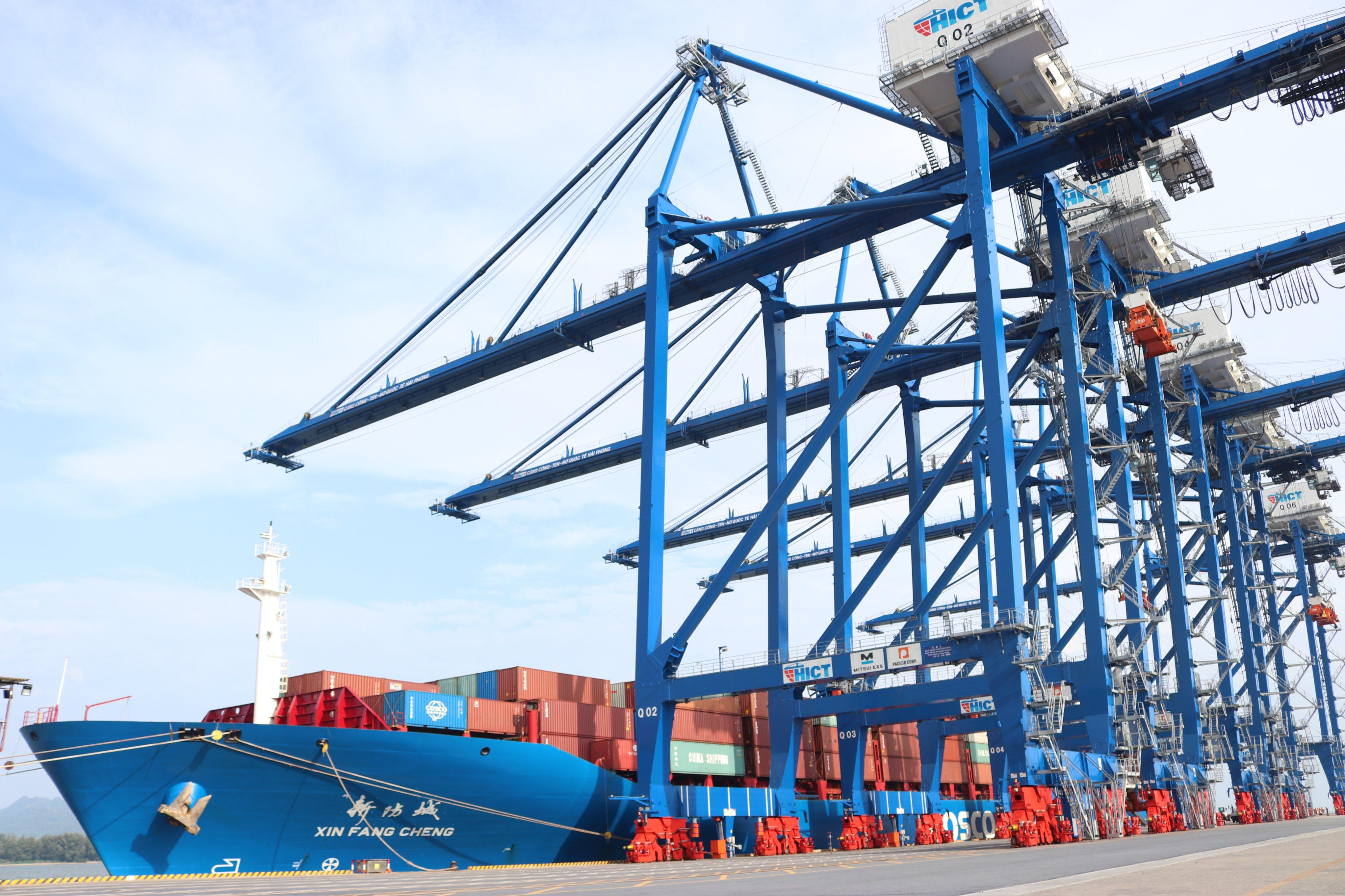 Cảng container quốc tế Tân cảng – H...