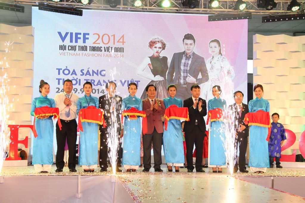 Lễ khai mạc Hội chợ thời trang Việt Nam VIFF 2014