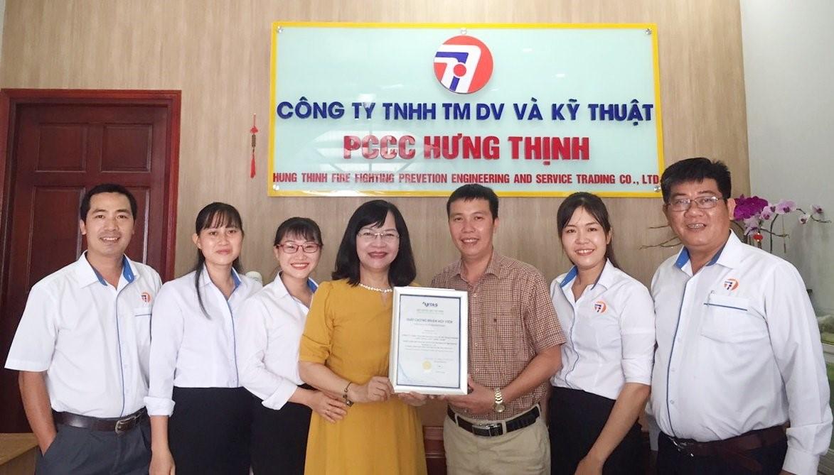 Vitas chào đón hội viên mới - Công ty TNHH TMDV và KT PCCC Hưng Thịnh
