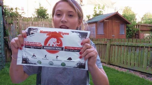 Công ty Mammoth của Anh đã cho ra mắt sản phẩm khăn lau phân hủy sinh học