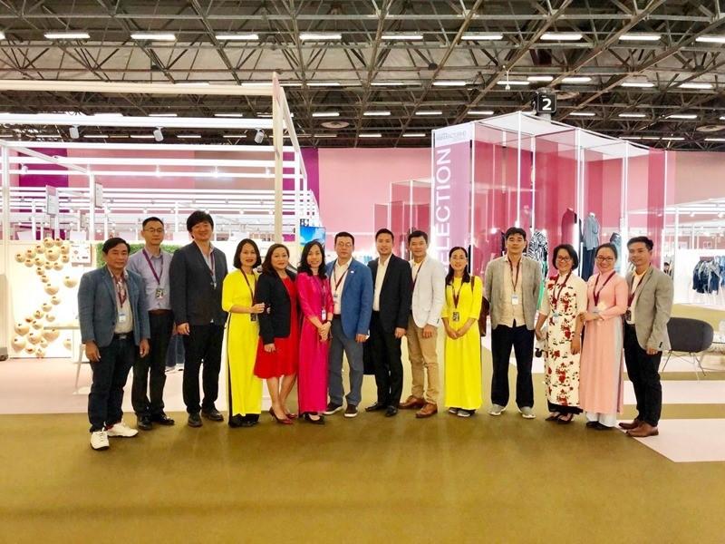 VITAS tham dự và quảng bá sản phẩm dệt may Made in Vietnam tại Hội chợ Premier Vision, Pháp