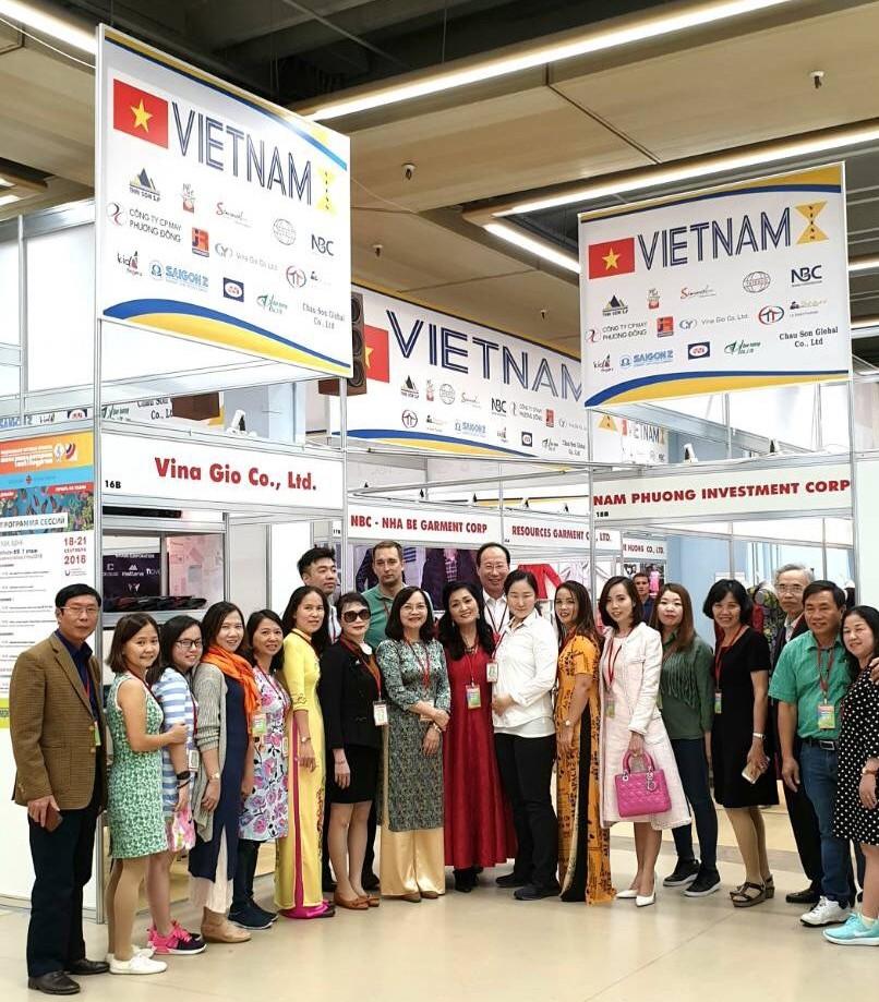 Việt Nam lần đầu tham dự Hội chợ Textillegprom tại Moscow, LB Nga