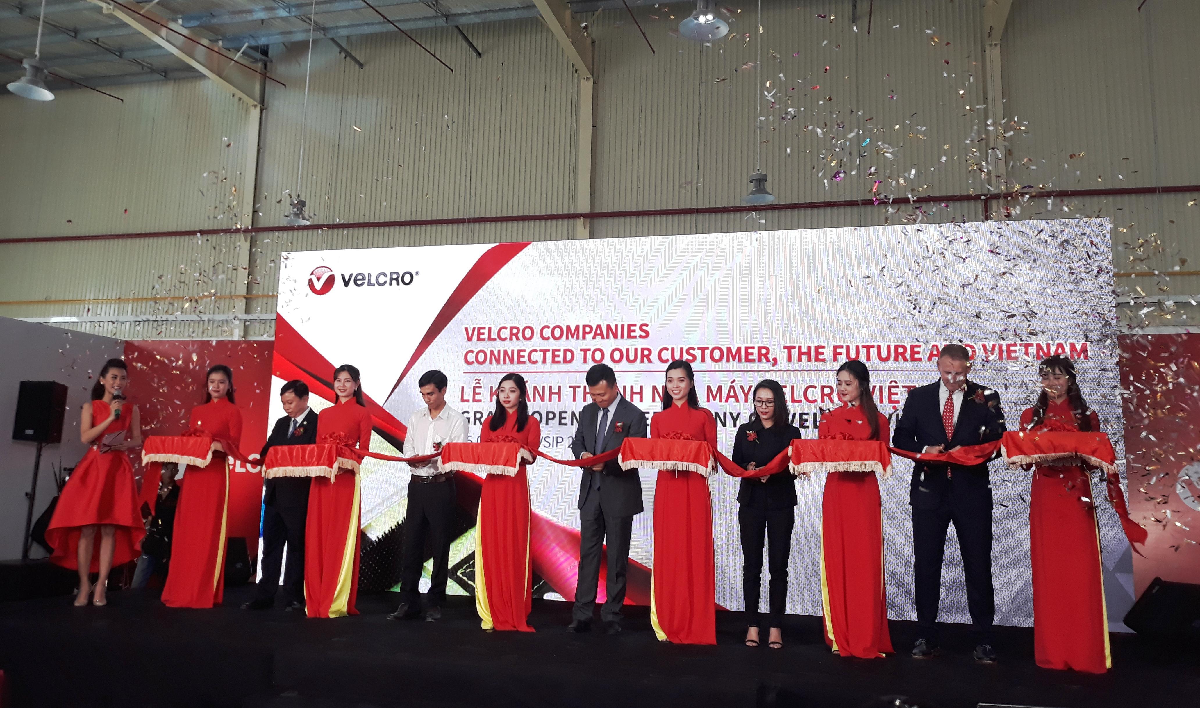 Lễ khánh thành nhà máy Velcro Việt Nam
