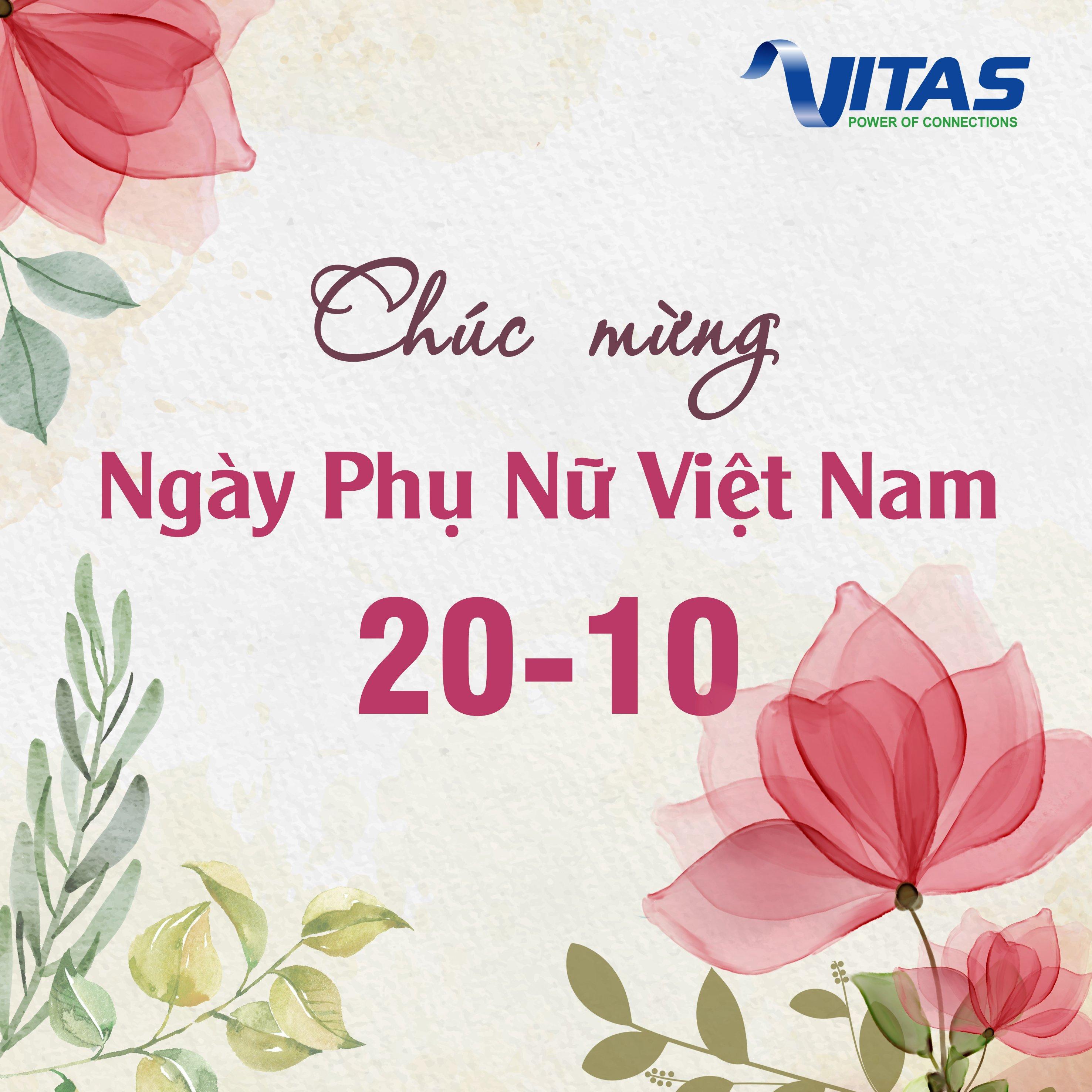 VITAS chúc mừng ngày Phụ Nữ Việt Nam 20/10