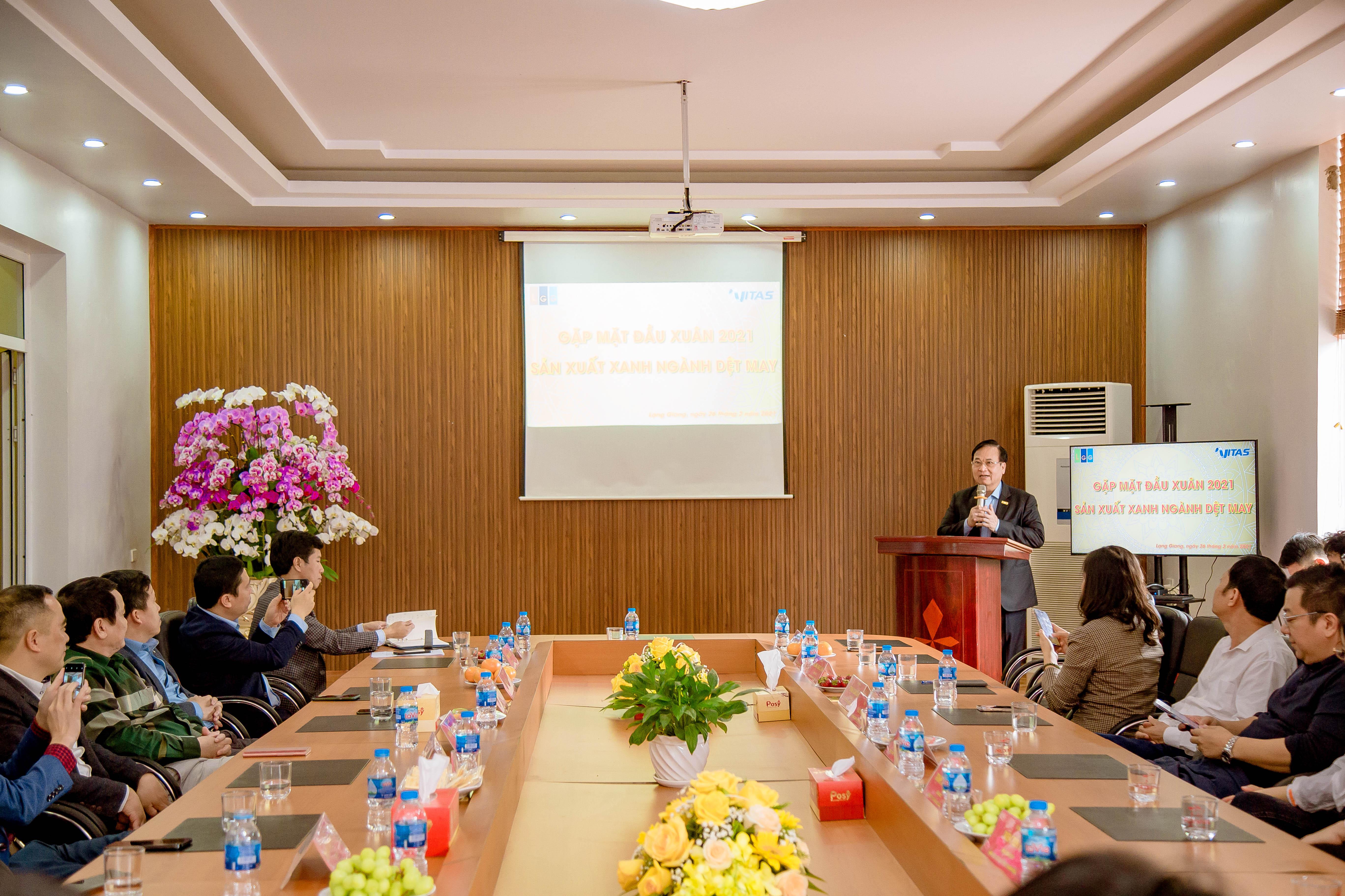 Gặp mặt đầu xuân các doanh nghiệp dệt may tại Tổng công ty May Bắc Giang LGG