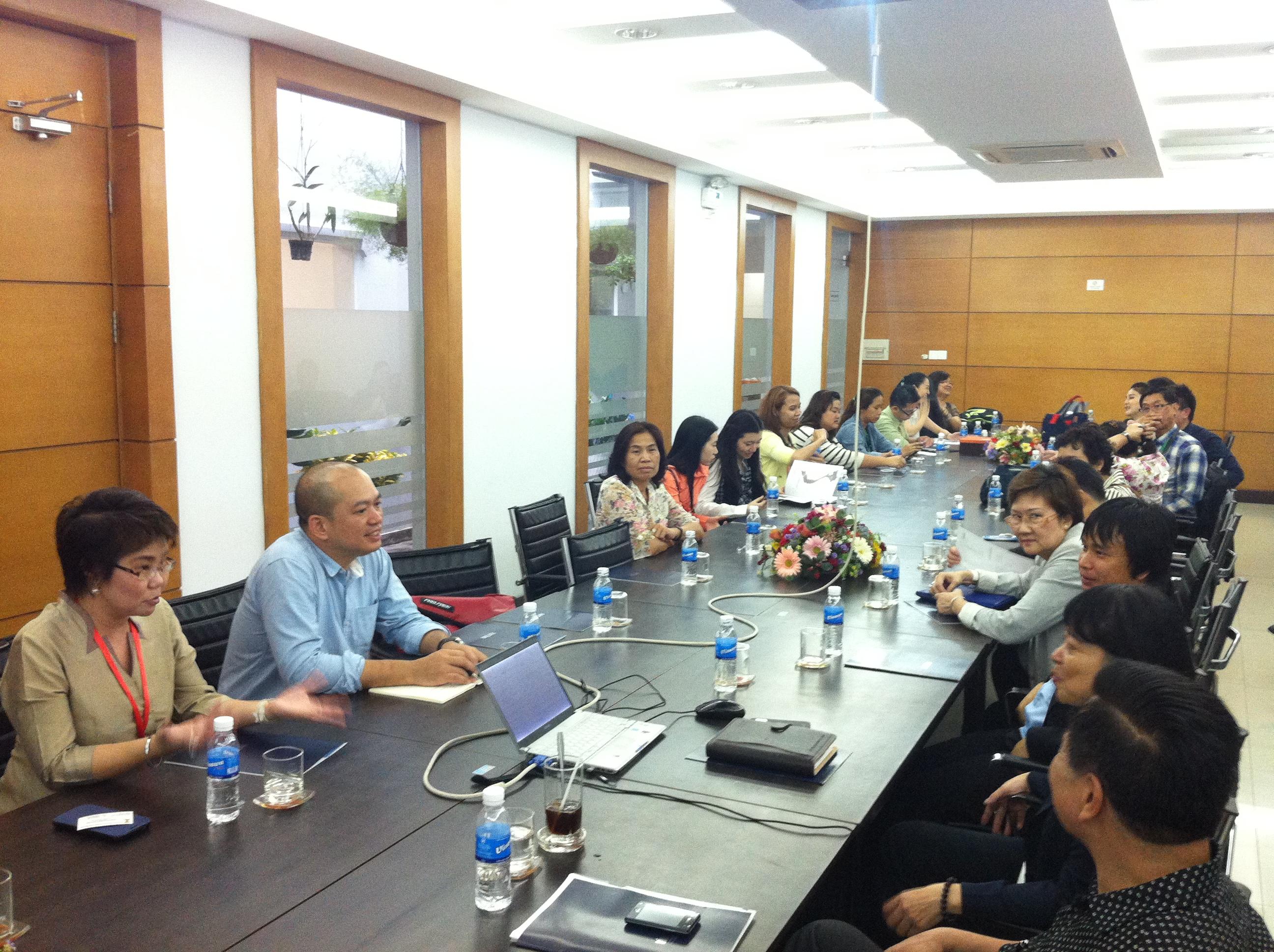 Vitas đón tiếp đoàn doanh nghiệp Thái Lan