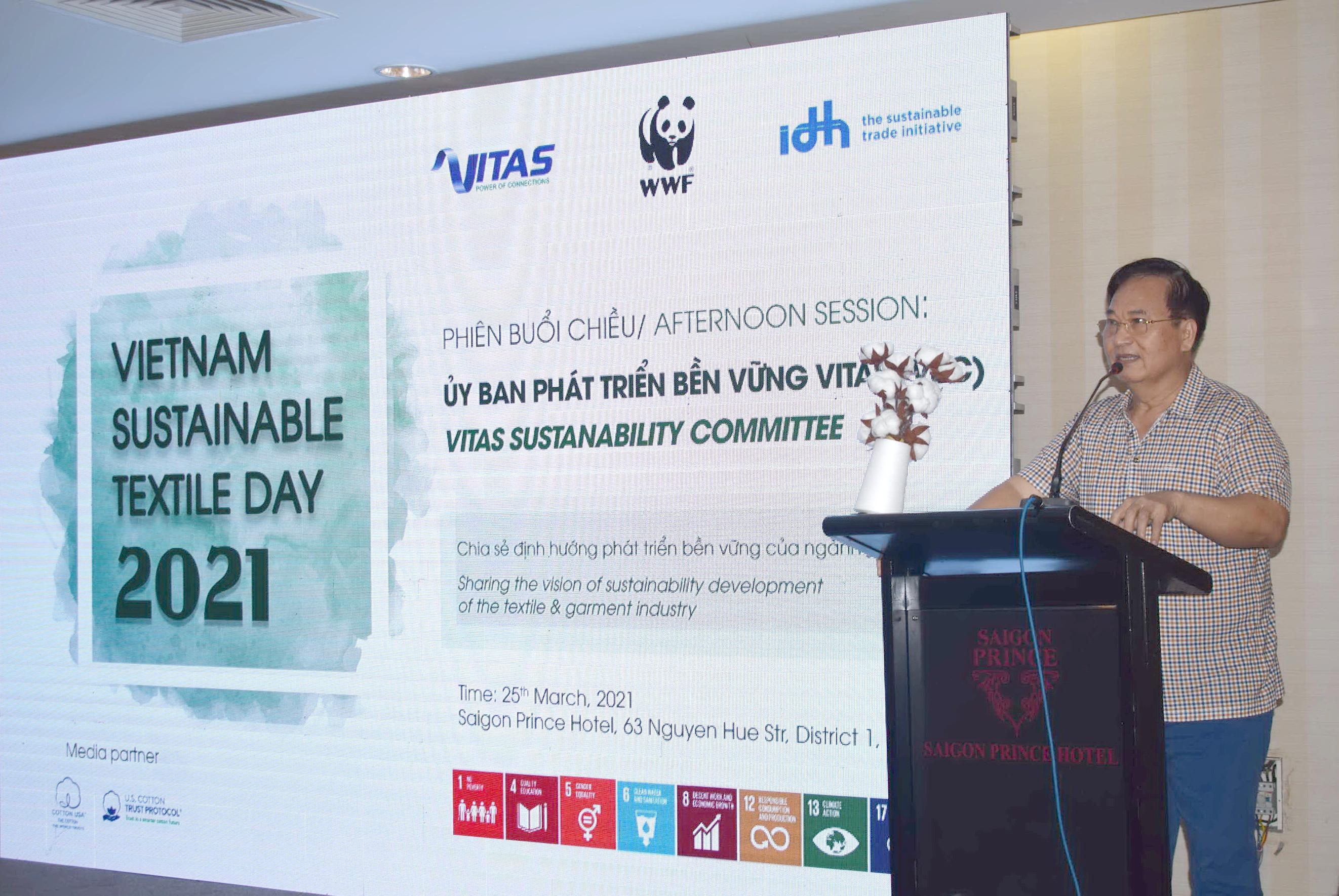Hơn 140 đại biểu tham dự hội nghị công tác hội viên và họp mặt Ủy ban PTBV VITAS tại TP. HCM